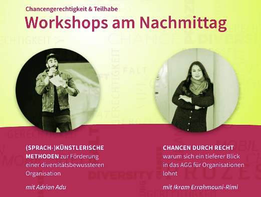workshops nachmittag
